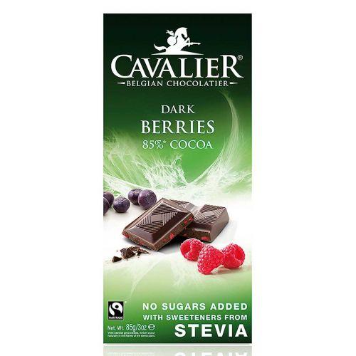 CAVALIER STEVIA TUMMASUKLAALEVY MARJAT 85 G