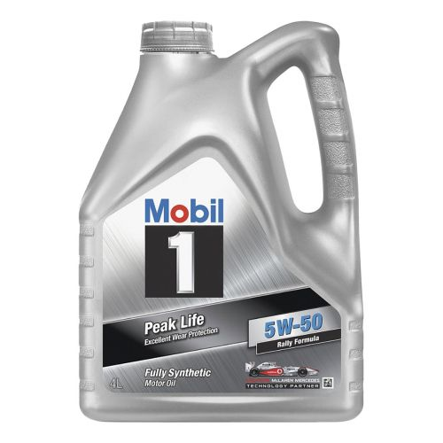 Mobil-1 Peak Life FS 5W-50 4L täyssynteettinen moottoriöljy