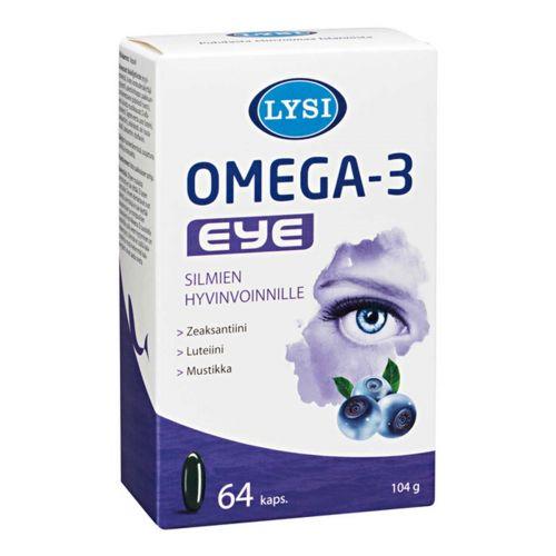 LYSI OMEGA-3 EYE 64 KPL
