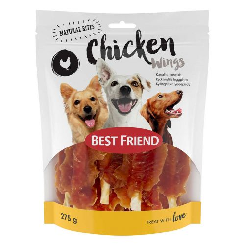 BEST FRIEND NATURAL BITES WINGS KANAFILEE PURUTIKULLA 275 G