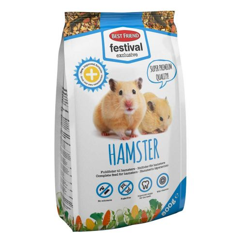 BEST FRIEND FESTIVAL EXCLUSIVE HAMSTERIN TÄYSRAVINTO 800 G