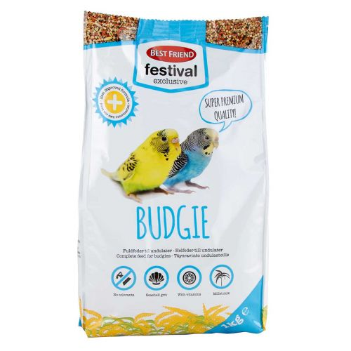 BEST FRIEND FESTIVAL EXCLUSIVE UNDULAATIN TÄYSRAVINTO 1KG