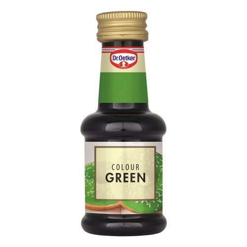 Dr.Oetker elintarvikeväri 30ml, vihreä