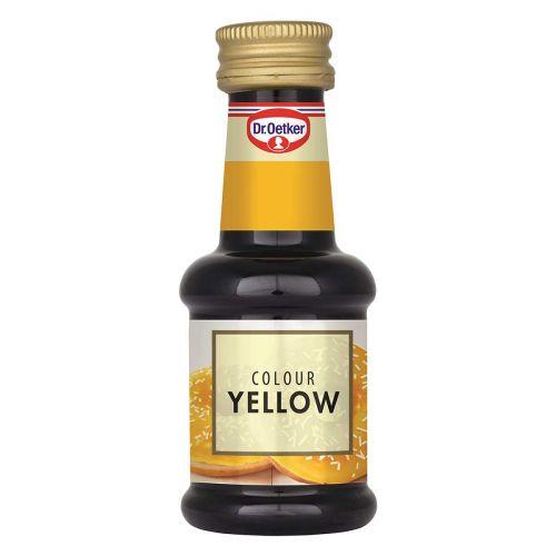 Dr.Oetker elintarvikeväri 30ml, keltainen