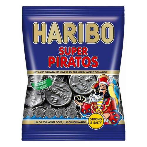 HARIBO SUPER PIRATOS 120G