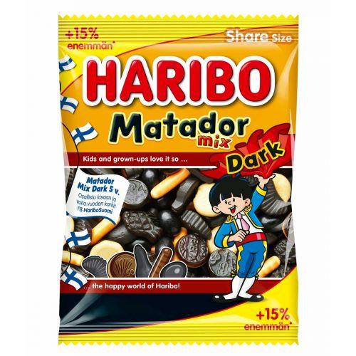 HARIBO MATADOR MIX DARK +15% 310G