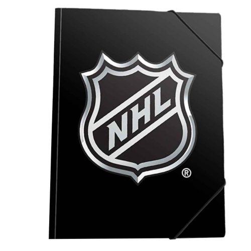 NHL LOGO A4 KULMALUKKOKANSIO, 2 ERIL.LAJ.