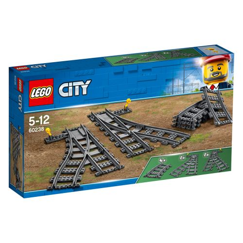 LEGO CITY TRAIN VAIHTORAIDE