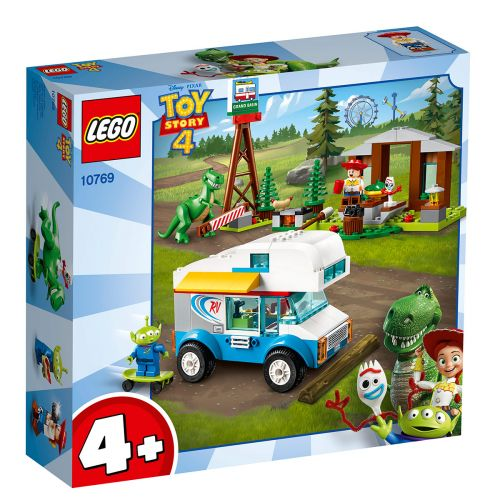 LEGO 4+ 10769 LELUELÄMÄÄ 4 -MATKAILUAUTOLOMA
