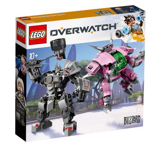 LEGO Overwatch 75973 D.Va ja Reinhardt