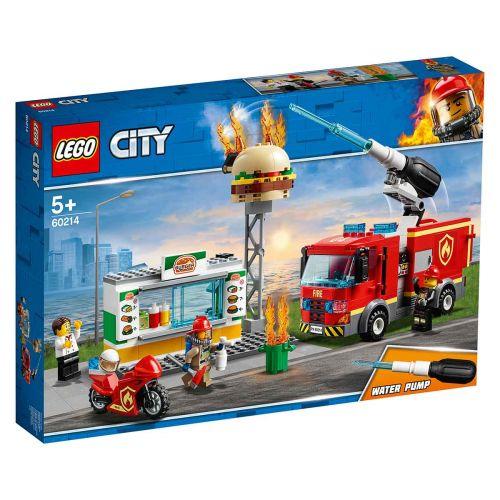 CITY FIRE 60214 PURILAISPAIKAN SAMMUTUSTEHTÄVÄ