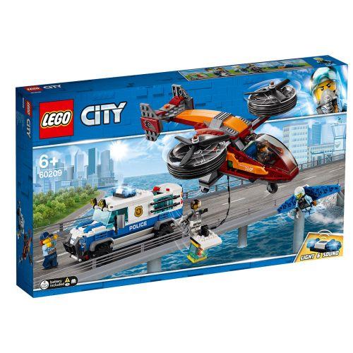 LEGO City Police 60209 Taivaspoliisi ja timanttiryöstö