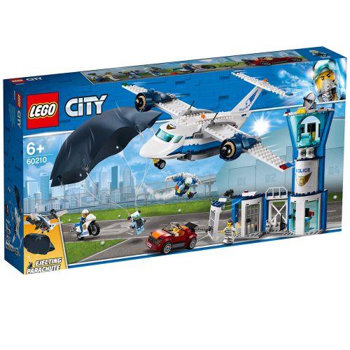 LEGO City Police 60210 Taivaspoliisin lentotukikohta