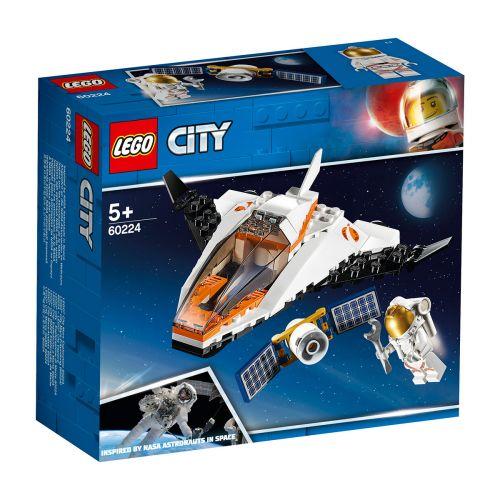 LEGO City Space Port 60224 Satelliitin huoltotehtävä