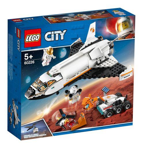 LEGO City Space Port 60226 Marsin tutkimussukkula