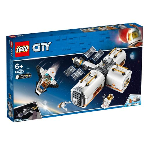 LEGO City Space Port 60227 Kuun avaruusasema
