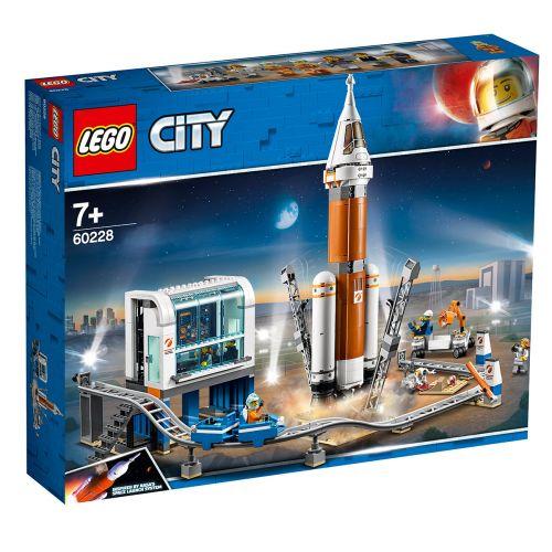 LEGO City Space Port 60228 Ulkoavaruuden raketti ja laukaisun valvomo