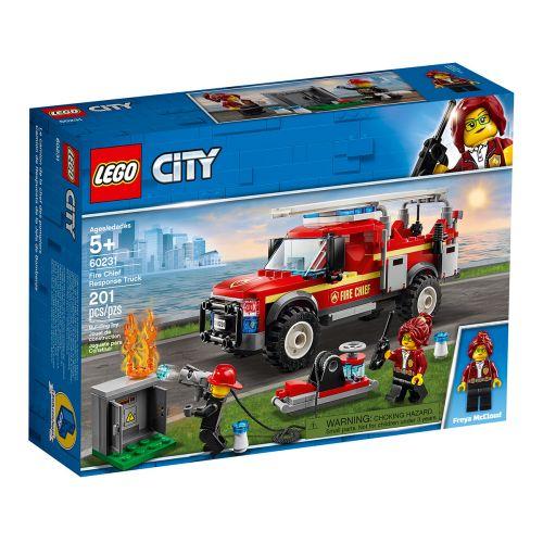 LEGO City Town 60231 Palopäällikön auto