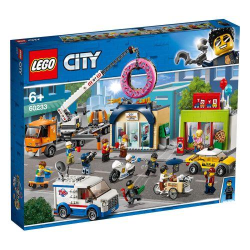 LEGO City Town 60233 Donitsikaupan avajaiset