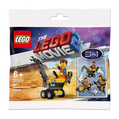 LEGO MOVIE 2 30529 30529 MINIMESTARIRAKENNELMA EMMET