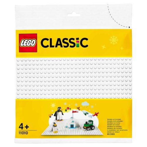 LEGO CLASSIC 11010 VALKOINEN RAKENNUSLEVY