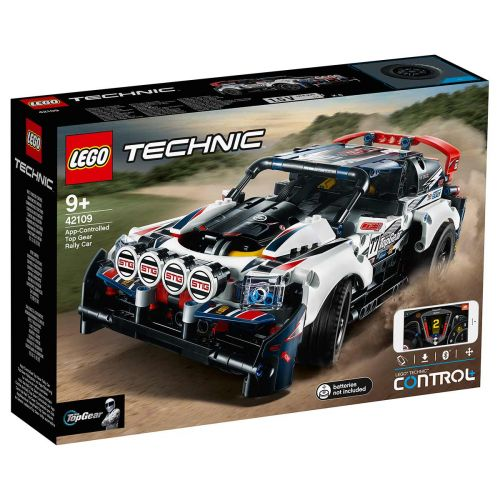 LEGO® Technic42109Sovelluksella ohjattava Top Gear -ralliauto