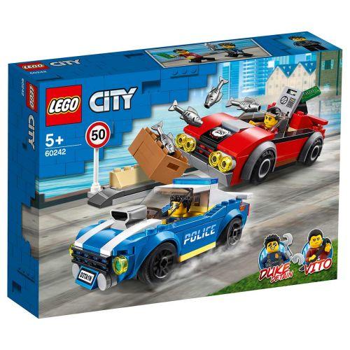 LEGO® City Police60242Pidätys maantiellä