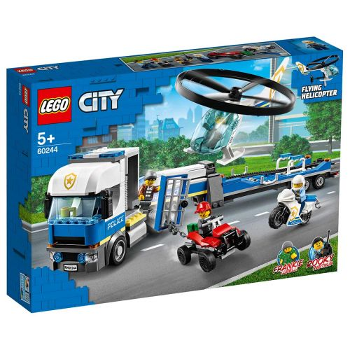 LEGO® City Police60244Poliisihelikopterin kuljetus