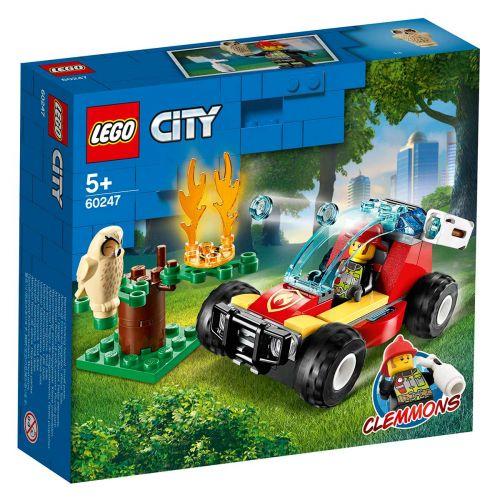 LEGO® City Fire60247Metsäpalo