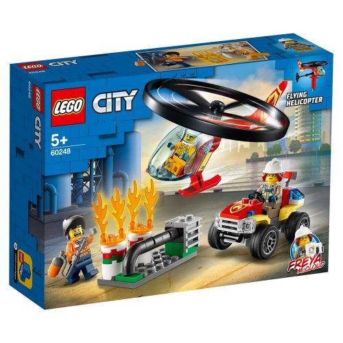 LEGO® City Fire60248Palokunnan helikopteriyksikkö