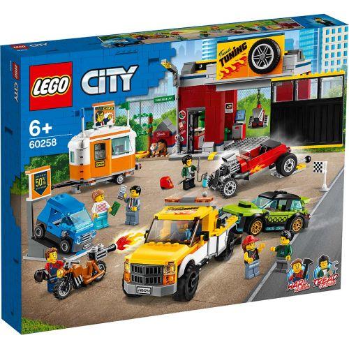 LEGO® City Nitro Wheels60258Tuunausautokorjaamo