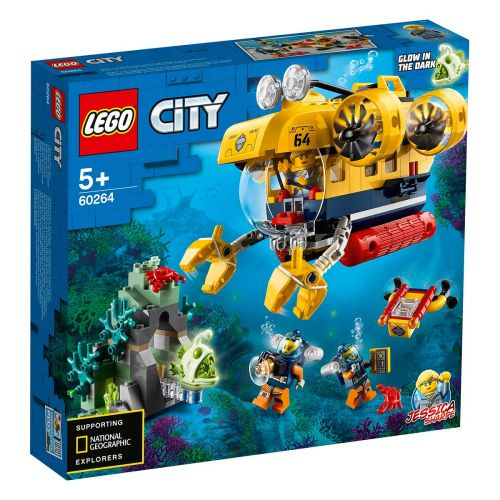 CITY OCEANS 60264 VALTAMEREN TUTKIMUSSUKELLUSVENE