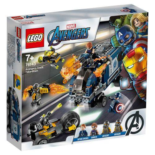 LEGO® Marvel Avengers Movie 476143Avengers Autotaistelu