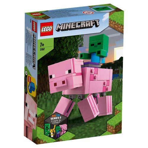 LEGO® Minecraft™21157BigFig possu ja pikkuzombi
