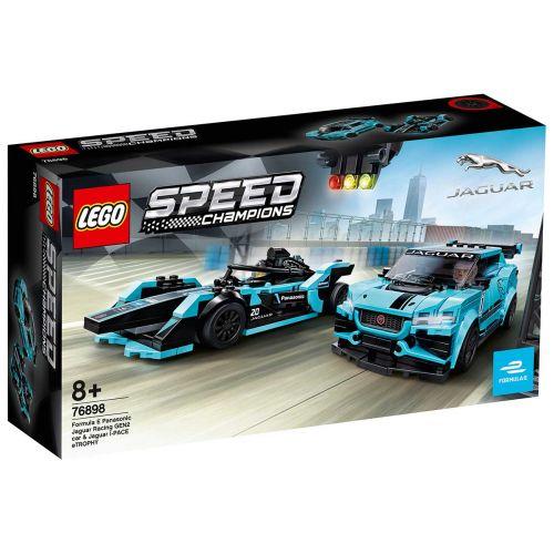 LEGO® Speed Champions76898Formula E Panasonic Jaguar Racing GEN2 car & Jaguar I-PACE eTROPHY