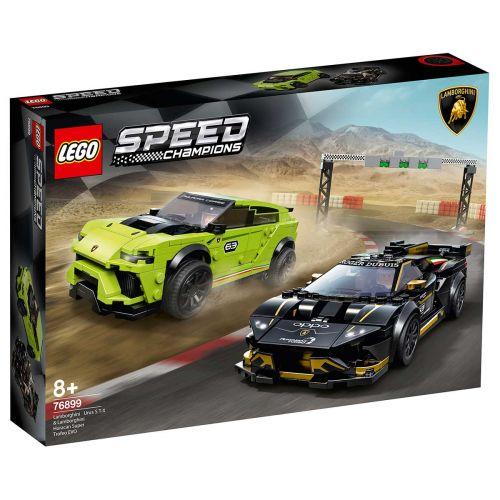 LEGO® Speed Champions76899Lamborghini Urus ST-X & Lamborghini Huracán Super Trofeo EVO