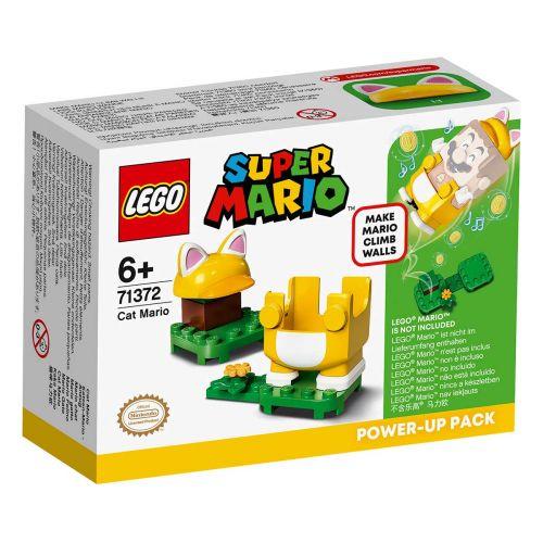 LEGO SUPER MARIO 71372 CAT MARIO TEHOSTUSPAKKAUS