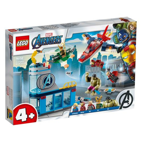 SUPER HEROES 76152 AVENGERS LOKIN R