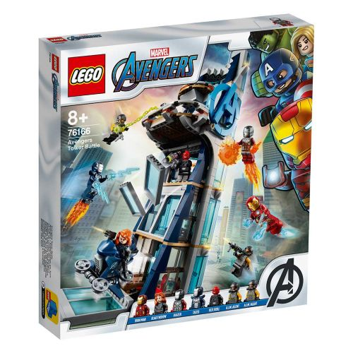 SUPER HEROES 76166 AVENGERS TOWER BATTLE