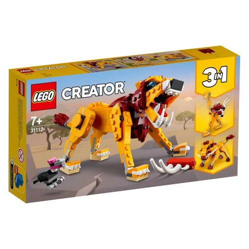 LEGO CREATOR 31112 VILLI LEIJONA