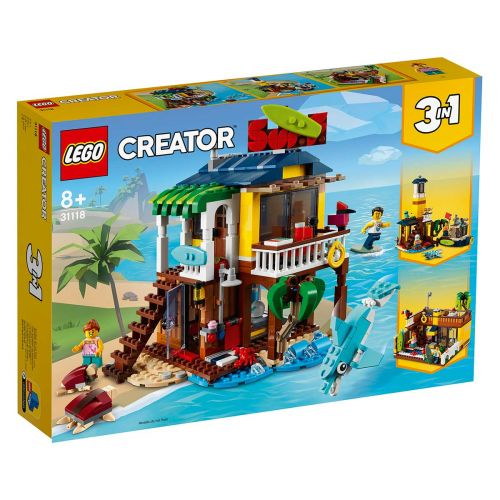 LEGO CREATOR 31118 SURFFAAJAN RANTAHUVILA