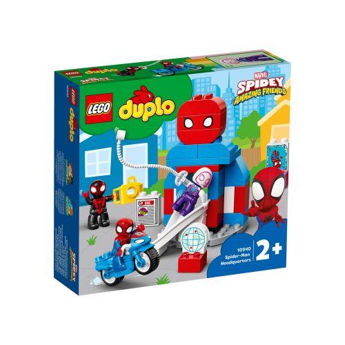 DUPLO SUPER HEROES 10940 SPIDER-MANIN PÄÄMAJA