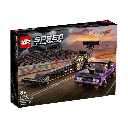 SPEED CHAMPIONS 76904 MOPAR DODGE//SRT TOP FUEL DRAGSTER JA DOD