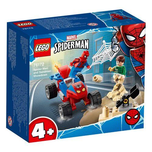 SUPER HEROES 76172 SPIDERMANIN JA SANDMANIN VÄLIENSELVITTELY