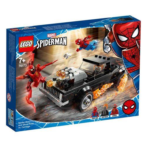 SUPER HEROES 76173 SPIDERMAN JA AAVEAJAJA VASTAAN CARNAGE