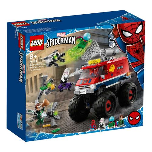 SUPER HEROES 76174 SPIDERMANIN MONSTERIAUTO VS MYSTERIO