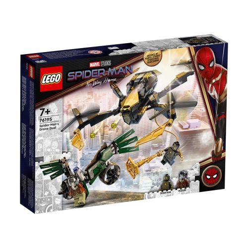 SUPER HEROES 76195 SPIDER-MAN JA DRONEKOPTERIEN KAKSINTAISTELU