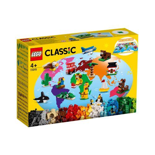 LEGO CLASSIC 11015 MAAILMAN YMPÄRI