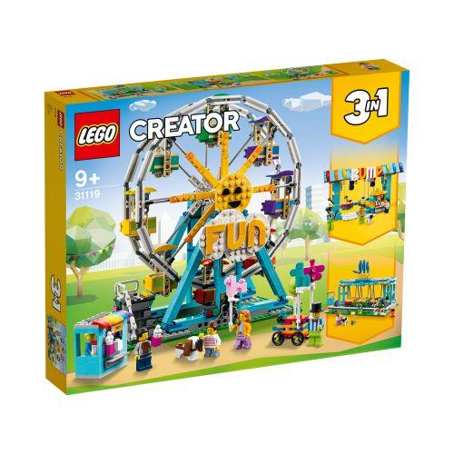 LEGO CREATOR 31119 MAAILMANPYÖRÄ
