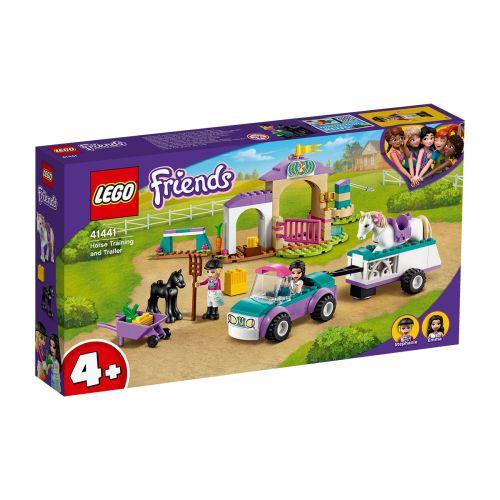 LEGO FRIENDS 41441 RATSASTUSVALMENNUS JA TRAILERI